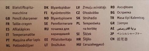 Skolebarnas beste venn på 28 forskjellige språk.