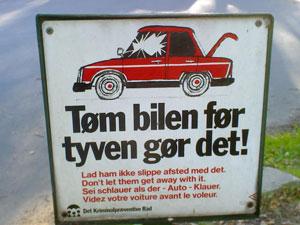 Dansk bilskilt