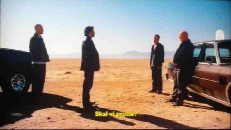 """Fra """"Breaking Bad"""", sæson 5, afsnit 6 (Netflix). Foto: Peter Brodersen."""